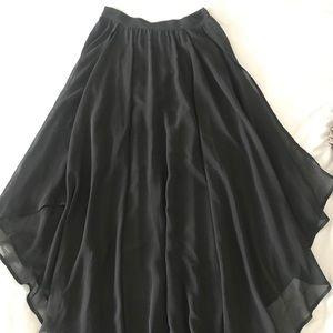 H&M Black Tulle Skirt